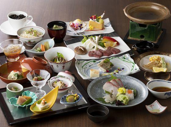 和食と洋食が融合した創作和食をお楽しみください