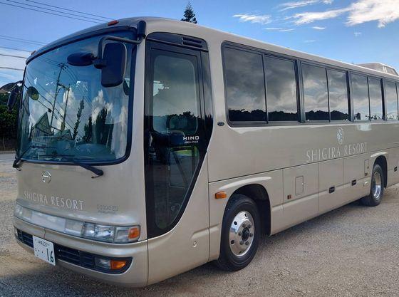 宮古空港からは無料の送迎バスございます