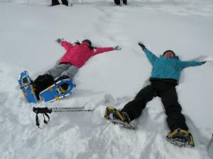 4歳から参加OK!雪の世界へGO!【浅間高原 スノーシュー天国 アスパラ (群馬県)】
