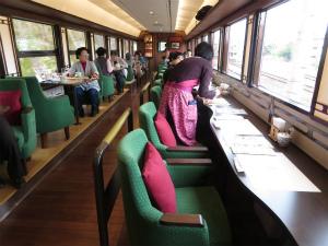 子どもと一緒にのんびりゴトゴト。春は観光列車が面白い
