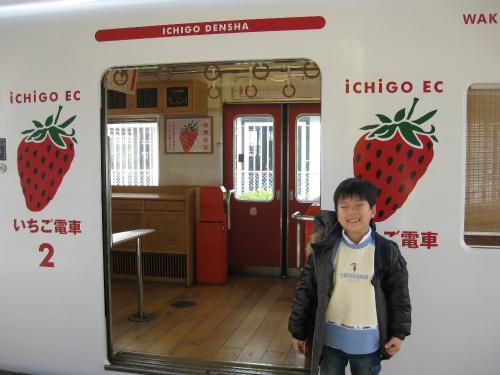 春の旅育~トロッコ列車にいちご電車、花いっぱいの関西スポット