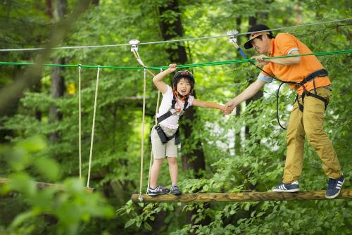 旅で子どもの生きる力を!「森の空中散歩」への挑戦