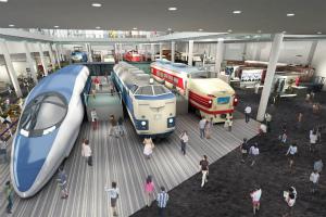 広がる夢。次号では京都の鉄道博物館を特集